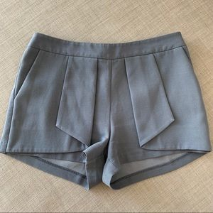 Grey Chic Mini Summer Shorts